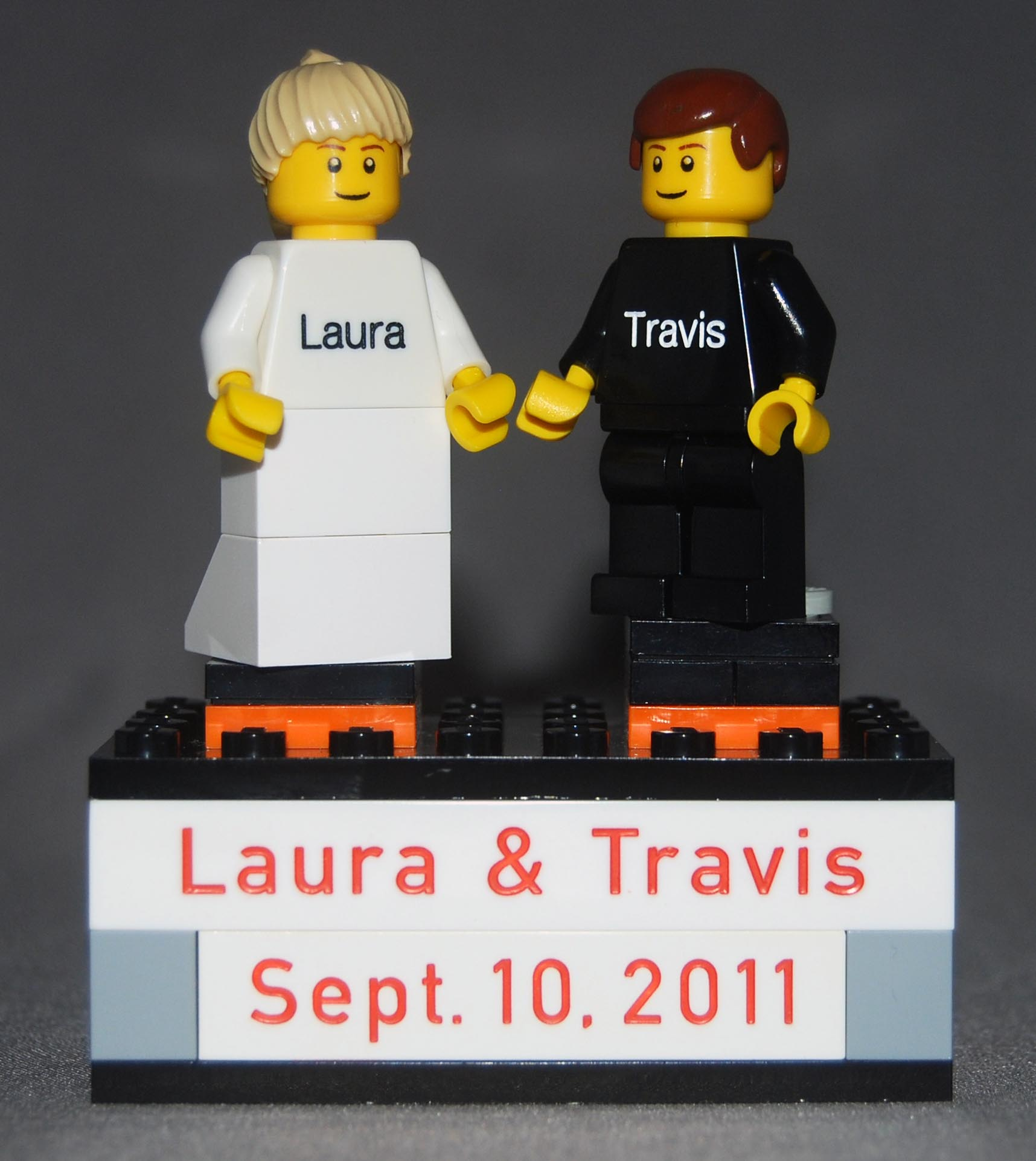 A Lego Wedding The Original Brickengraverbrickprinter
