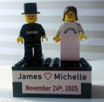 We actually did this one as an anniversary present. A good example of an engraved heart (can also do a filled version).