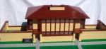 Frank Lloyd Wright's Thomas Hardy House made in LEGO by Jameson Gagnepain