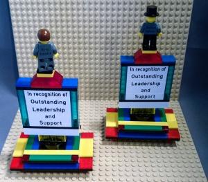 lego education trophy back