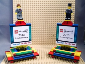 lego education trophy front