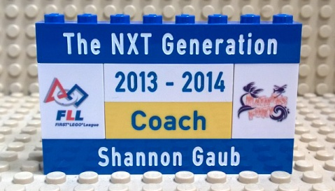 The NXT Generation FLL Badge